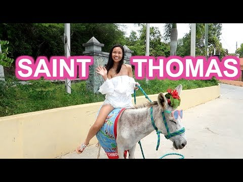 ST. THOMAS, U.S. VIRGIN ISLANDS TOUR IN THE CARIBBEAN!