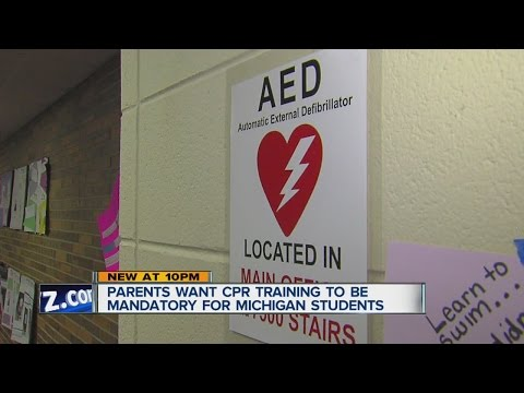 Parents want CPR training to be mandatory for Michigan students