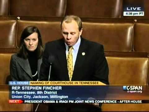Congressman Fincher Floor Speech Honoring M.D. Anderson