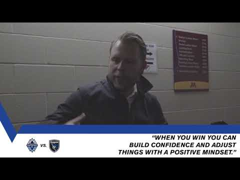 Mikael Stahre looks ahead to midweek clash in Vancouver