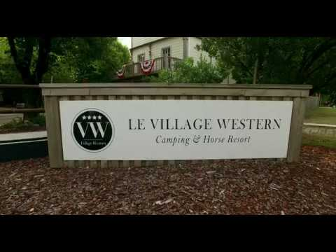 Le Village Western camping & Horse resort, promotion 2016, France