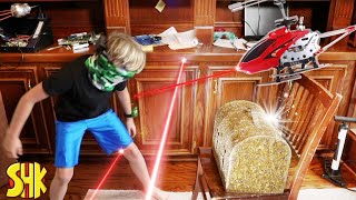 SuperHeroKids Spy Kids Mystery Treasure Box Heist | Funny Family Videos Compilation