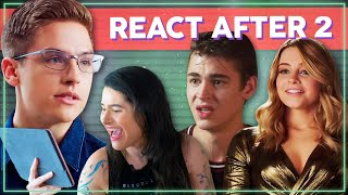 TESSA E HARDIN DO LIVRO + SURTOS COM TREVOR! React Trailer After We Collided | Alice Aquino