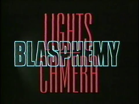Hollywood   Lights, Camera Blasphemy! [1995] [VHS] [Christian Propaganda]