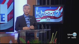 Hawaii's Debate: How can the people of Hawaii trust you with their money?