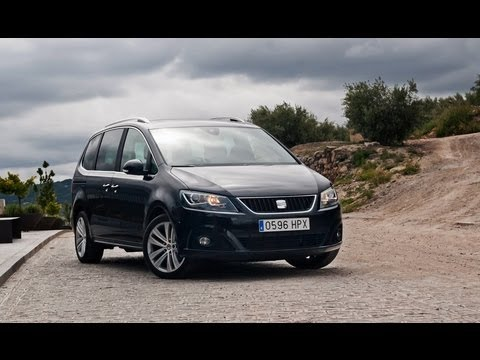 seat alhambra 2 0 tsi 6at 2013 youtube. Black Bedroom Furniture Sets. Home Design Ideas