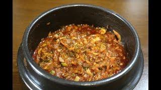 강된장 쉽고 간편하지만 맛깔나게 만드는 비법 표고버섯과 야채 심방골주부