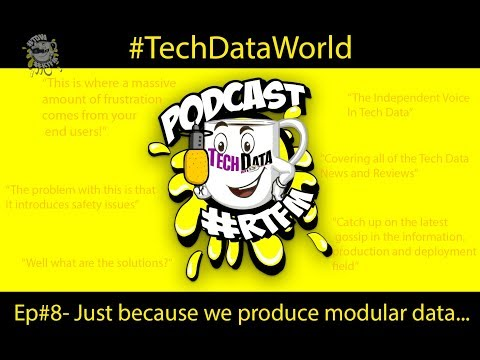 Just because we produce modular data - Podcast Episode#8