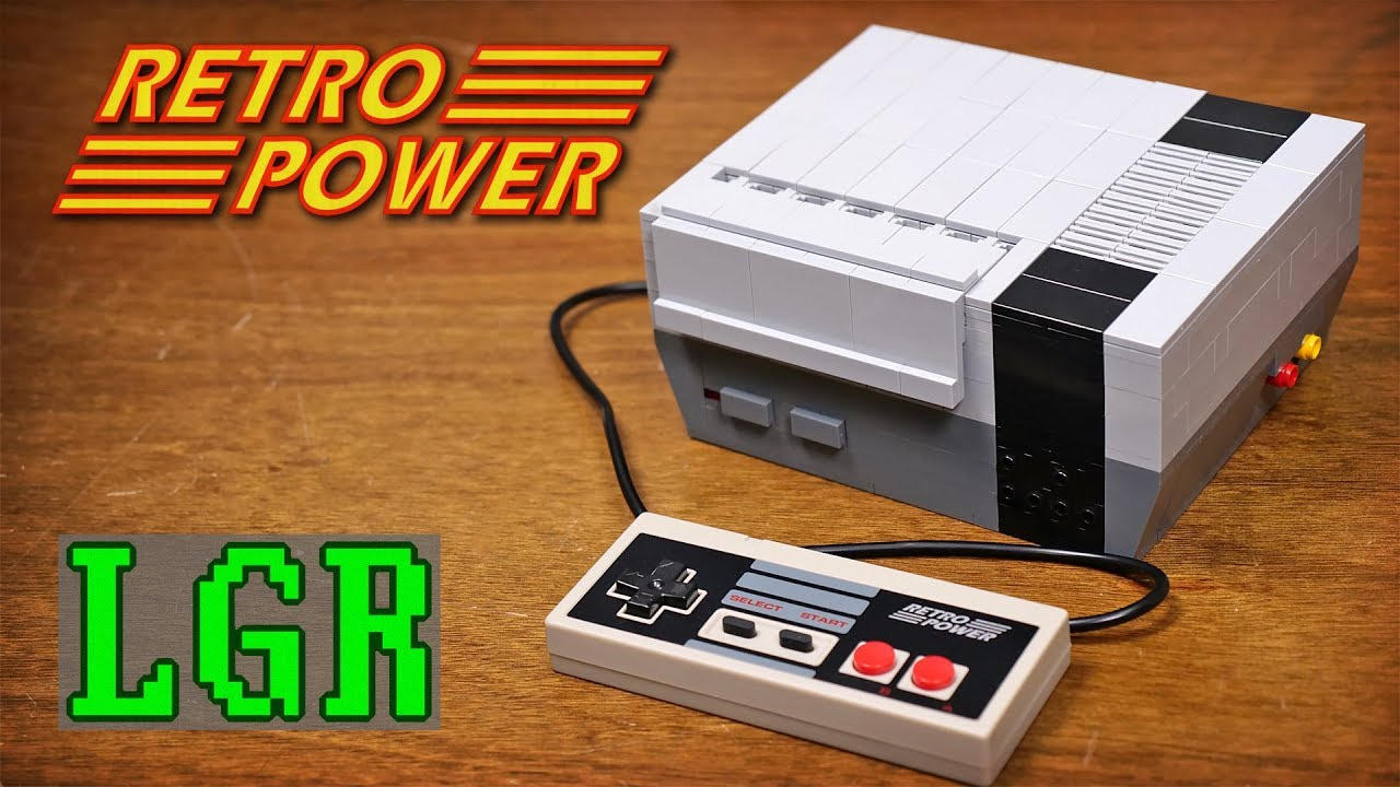 "Building a ""Lego"" NES Mini Console #piday #raspberrypi @Raspberry_Pi on"