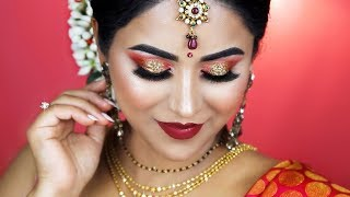 KARWACHAUTH/DIWALI/INDIAN FESTIVAL MAKEUP/ 2017/ SMITHADBEAUTY