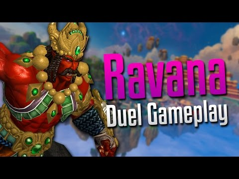 Smite: SO CLOSE!- Ravana Duel Gameplay