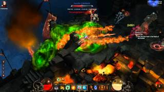 Diablo 3 - Monk Tank (Dodge) - Act 3 Inferno Farming Guide - Solo Cydaea & Azmodan - v1.0.3