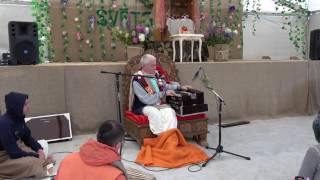 Чайтанья Чандра Чаран прабху, ретрит 2017, Святоустье Латвия, 1-й день