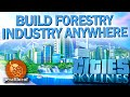 Cities Skylines Forestry industry, Gameplay Tips #1