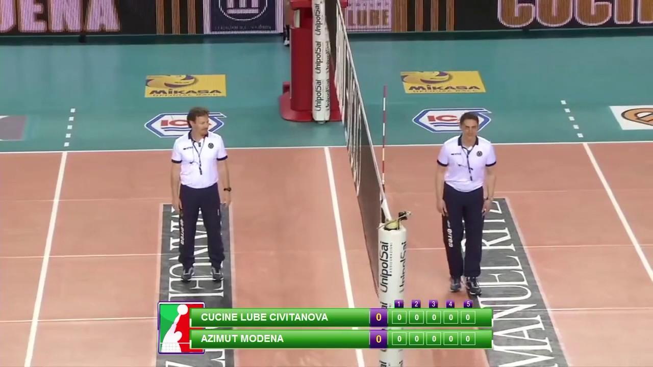 Highlights gara 1 semifinale playoff cucine lube civitanova vs azimut modena 20 03 2017 youtube - Cucine lube civitanova ...