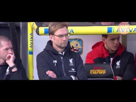 Jürgen Klopp funny Celebration - Norwich 4-5 Liverpool