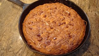 Chocolate Chip Skillet Cookie Deep Dish By Diane Love To Bake