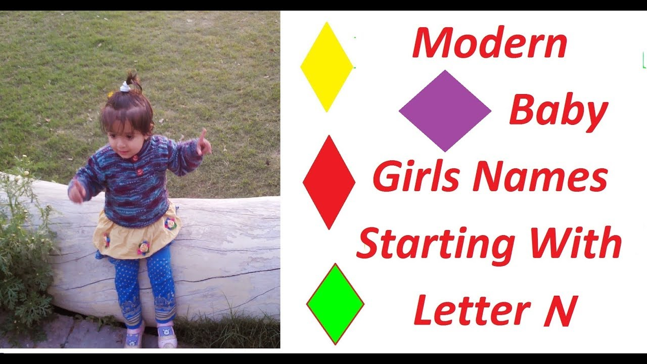 Modern Baby Girl Names Starting With Letter N