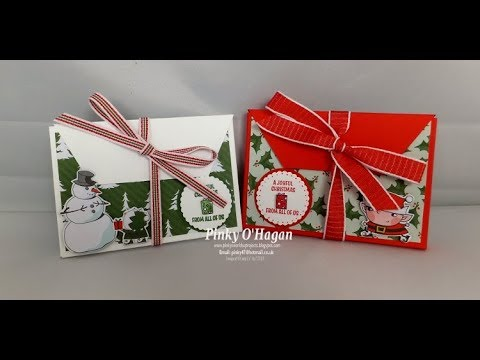 Money gift box idea for Christmas
