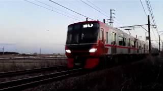 「SicVVVFの良い音♪新型車9500系」名鉄9502F普通金山行き、植大駅到着