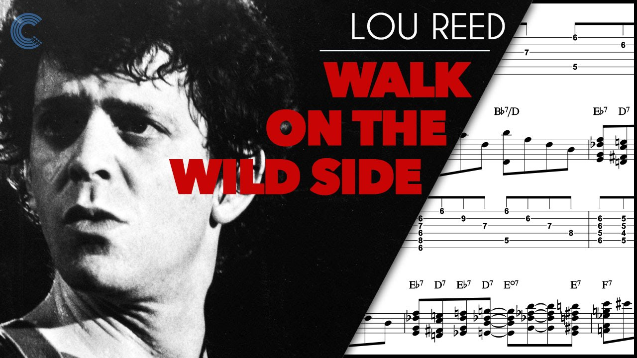 Trumpet Walk On The Wild Side Lou Reed Sheet Music Chords