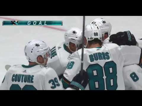 Anaheim Ducks Vs San Jose Sharks Game 1 2018 Stanley Cup Playoffs