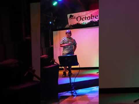 Draco singing When I was Your Man karaoke