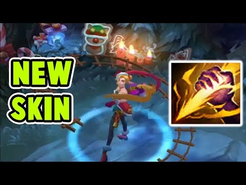 NEW AMBITIOUS ELF JINX JUNGLE GAMEPLAY | BEST SKIN EVER | CHRISTMAS IS HERE | League of Legends
