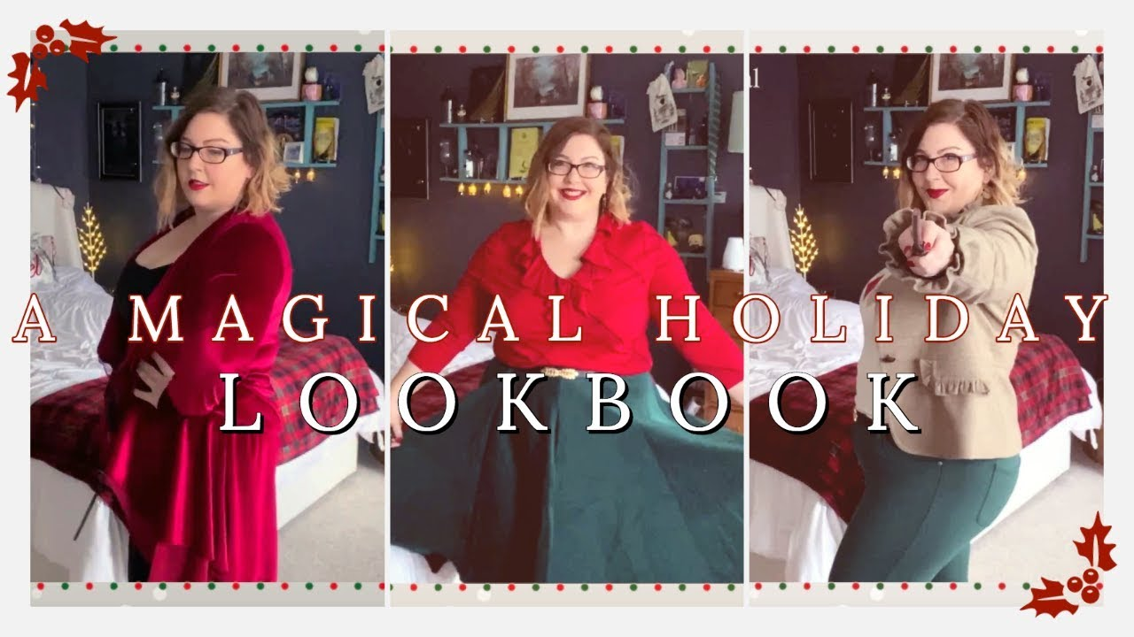 [VIDEO] - A MAGICAL HOLIDAY LOOKBOOK 🎄| SIX OUTFITS ✨| PLUS SIZE 2