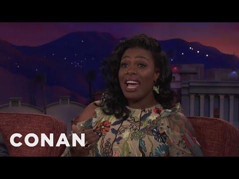Ta'Rhonda Jones Calls Out Her Neighbors' Very Loud Sex  - CONAN on TBS