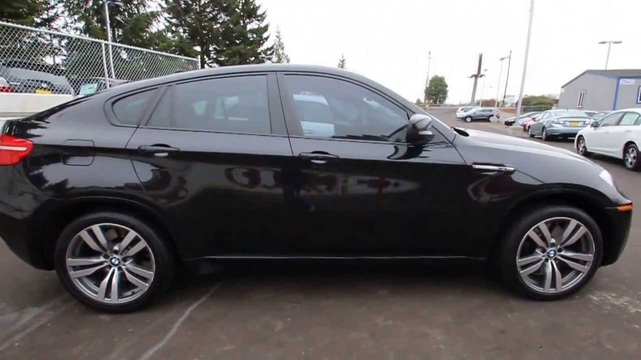 2011 BMW X6 M  Black  BLK14062  Seattle  Renton  YouTube