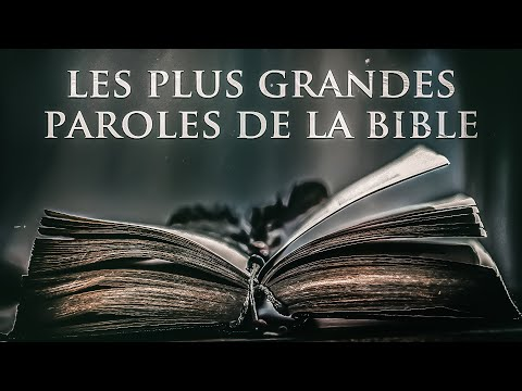 La Bible : Les Meilleures Citations Inspirantes | Atlas Motivation