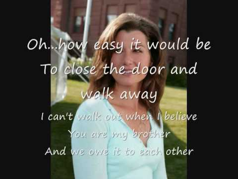 amy grant -eye to eye with lyrics