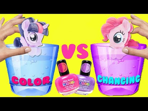DIY My Little Pony Movie 2017 Color Changing Nail Polish