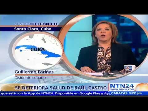 """""""Raúl Castro está grave de salud, pero no en un estado crítico"""": Guillermo Fariñas, disidente cubano"""