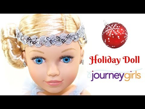 Journey Girls 2016 Holiday Doll and 3 Fashion Fabulous Outfits