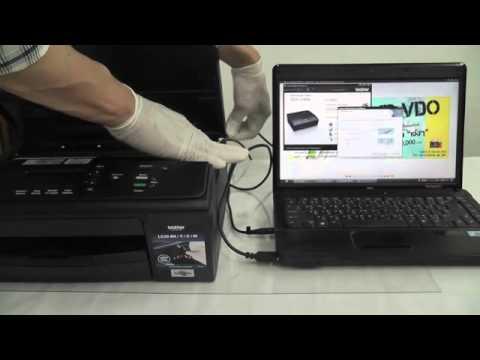 วิธีการติดตั้งเครืองพิมพ์ Brother dcpj-140 installation.mp4 โดยคอมพิวท์