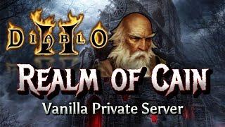 Private Server Trailer🔥Realm of Cain🔥- Diablo 2