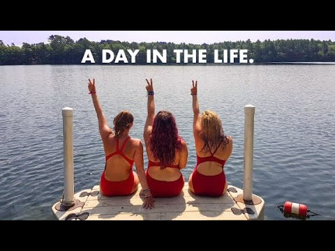 Day In The Life At Summer Camp! - Camp Counsellors.