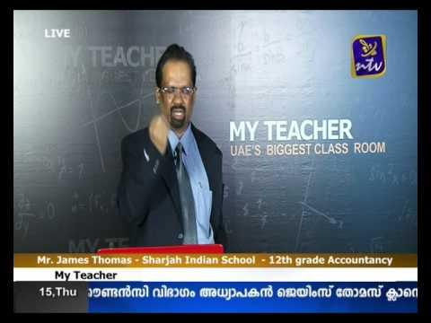 My Teacher  (Accountancy Class for grade 11) part 1