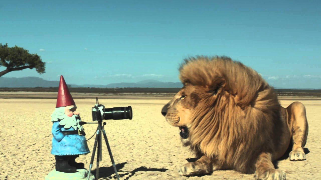 The Travelocity Roaming Gnome Safari Commercial