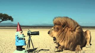 "The Travelocity Roaming Gnome: ""Safari"" Commercial"