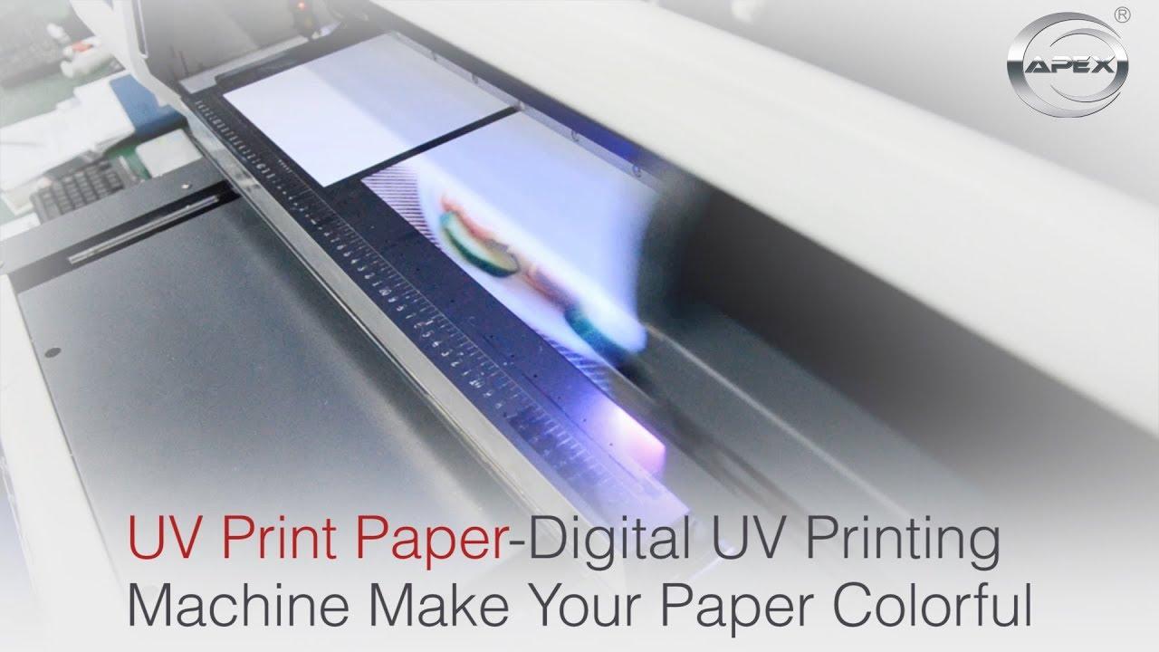 UV Print Paper-Digital UV Printing Machine Make Your Paper Colorful