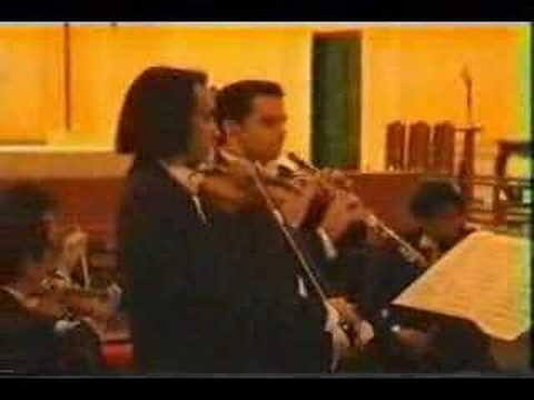 Bach - Carlos Damas Concerto for violin and Oboe 3rdMvt.