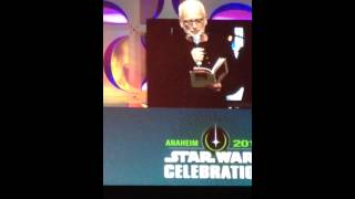 Ian McDiarmid performs Shakespearian take on Emperor Palpatine live at Star Wars Celebration 2015