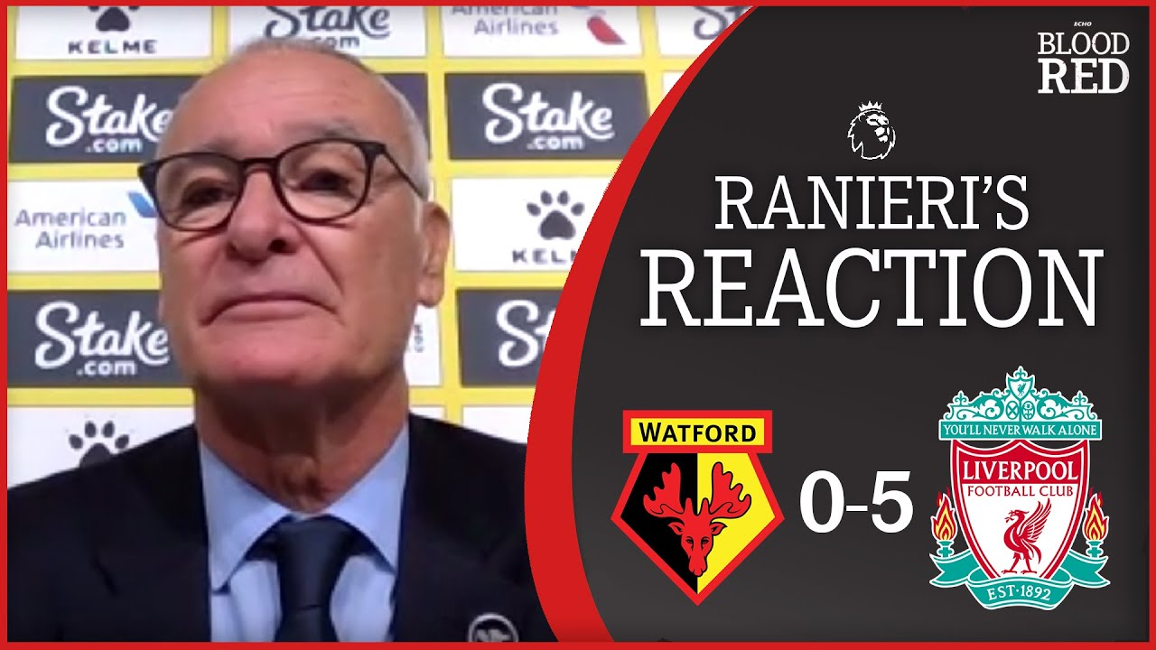 Download 'Salah is THE BEST' | Claudio Ranieri Press Conference | Watford 0-5 Liverpool