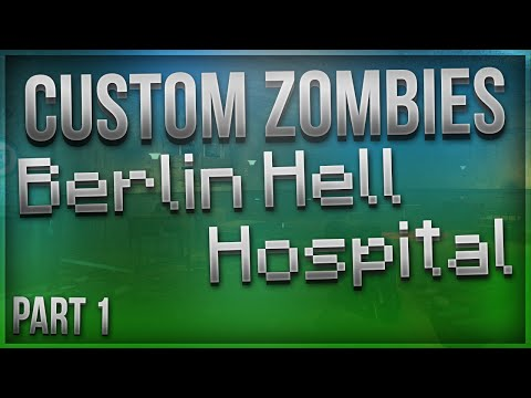 """METEOR EASTERGG!"" - Custom Zombies - ""Berlin Hell Hospital"" - Part 1 (Call Of Duty Zombies)"