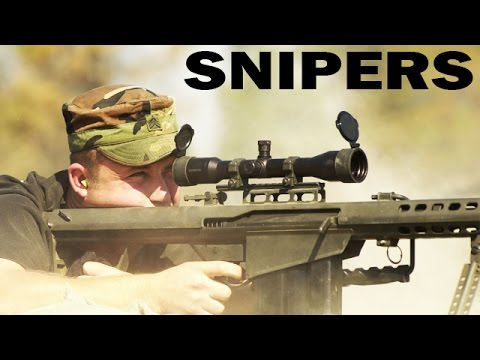 US Army Snipers | US Army Training Film: Sniper Employment | 1992
