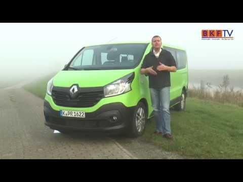 Renault Trafic Grand Combi BKF TV Fahrzeugtest