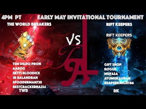 [NA] TWB vs RK (Early May Invitational Tournament)